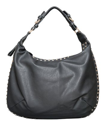 Black Lola Shoulder Bag