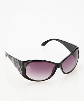 Black White Tiger Sunglasses