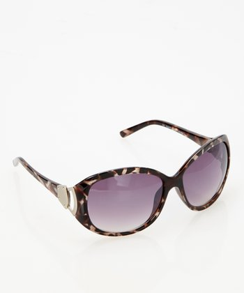 Dark Tortoise Swan Sunglasses