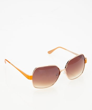 Gold & Orange Sunshine Sunglasses