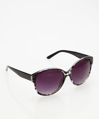 Black Night Round Sunglasses