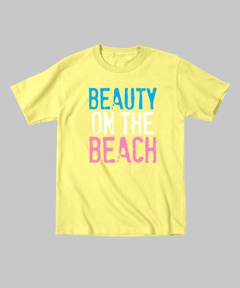 Banana 'Beauty on the Beach' Tee - Toddler & Kids