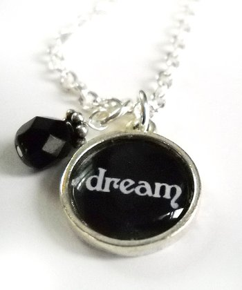 Silver 'Dream' Pendant Necklace