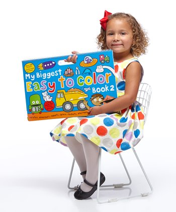 My Biggest Easy to Color Book 2 17'' x 11'' Paperback