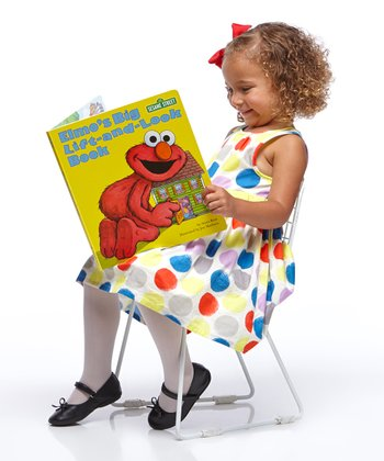 Elmo's Big Lift-and-Look Book 10'' x 11.5'' Board Book