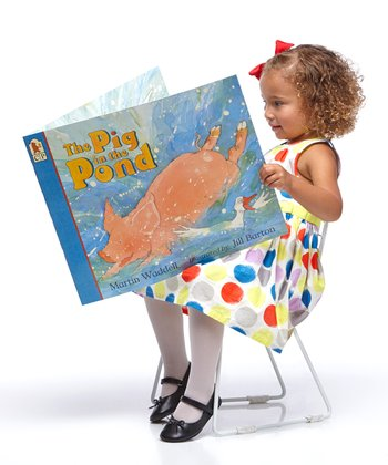 Pig in the Pond 12.5'' x 18'' Hardcover