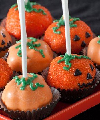 Pumpkin Cake Pop Pan
