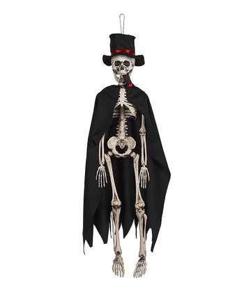 Light Up Cigar Small Skeleton Figurine