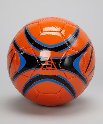 Orange & Royal Blue XB1 LII Soccer Ball