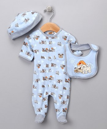 Kite Blue Doggy Set