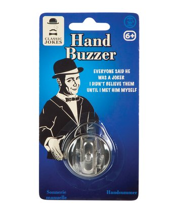 Hand Buzzer - Set of Three