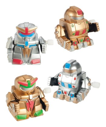 Marching Robot Wind-Up - Set of 12