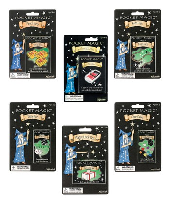 Pocket Magic Assortment - Set of 6