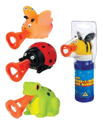 Mini Squee-Z-Bubs Bubble Set