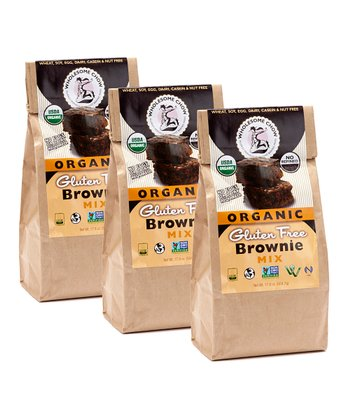 Gluten-Free Brownie Mix - Set of Three