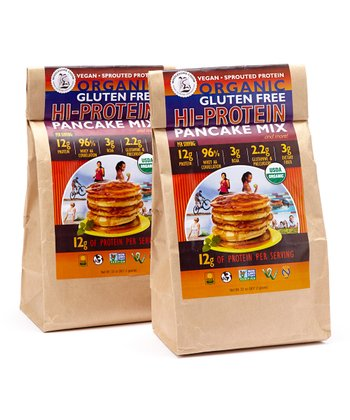 Gluten-Free High-Protein Pancake Mix - Set of Two