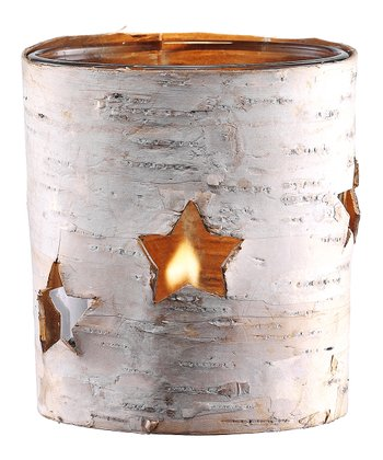 Tree Bark Candleholder