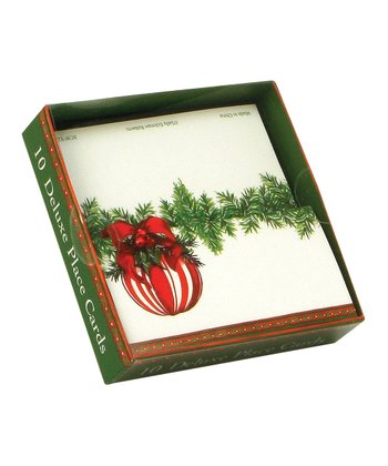 Fanciful Ornament - Place Cards (1 Box - Set of 10)