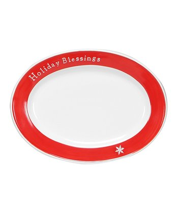 Holiday Expressions Cookie Plate
