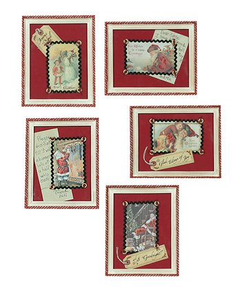 Christmas Framed Picture Set