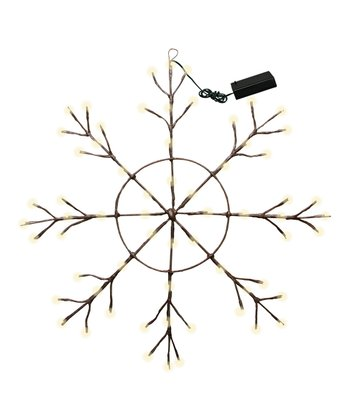 Lighted Large Snowflake