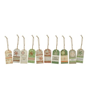 Christmas Paper Tag Set