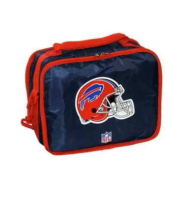 Navy Buffalo Bills Lunch Break Lunch Box