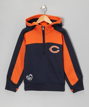 Chicago Bears Active Hooded Pullover - Girls