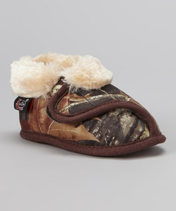 Mossy Oak Strap Slipper