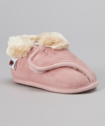 Pink Strap Slipper - Kids