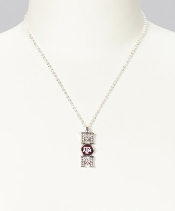Texas A&M Aggies 'Mom' Pendant Necklace - Women