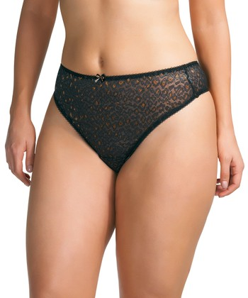 Black Ophelia Thong - Women & Plus