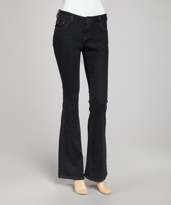 Dark Tread Bootcut Jeans - Women