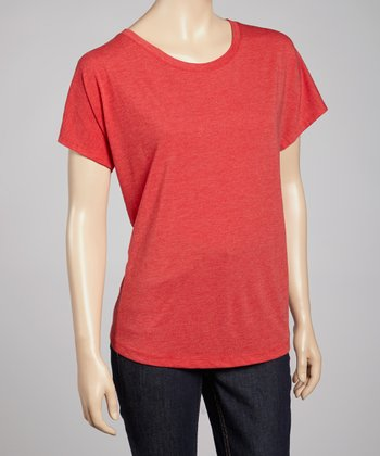 Vintage Red Short-Sleeve Tee