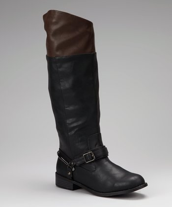 Black Betsey Riding Boot