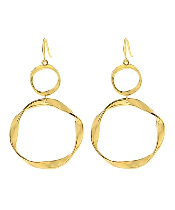 Gold Kara Earrings