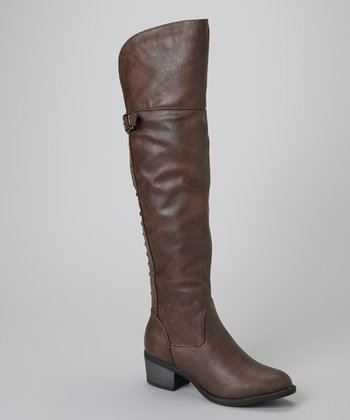 Brown Rhonda Boot
