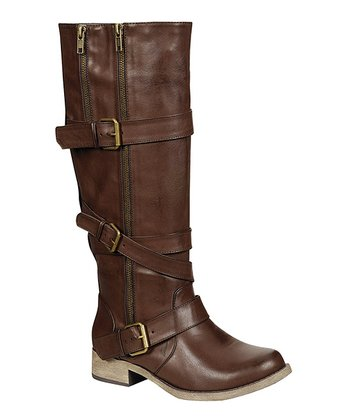 Brown Augusta Boot