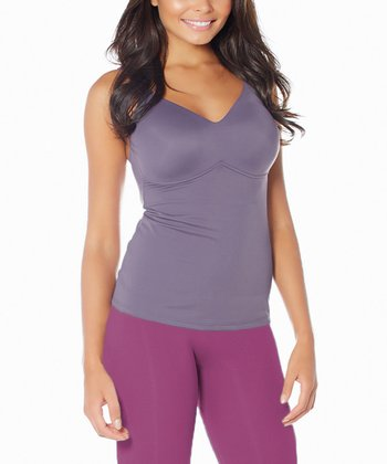 Magenta High-Waisted Capri Shaper Leggings - Women & Plus