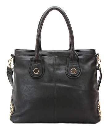 Black Hannah Shoulder Bag