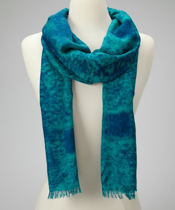 Blue Waters Cashmere-Silk Blend Scarf