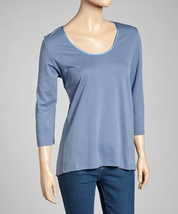 Cobalt Classic-Fit Three-Quarter Sleeve Top