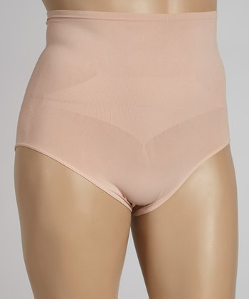 Nude Control High-Waisted Shaper Briefs - Plus