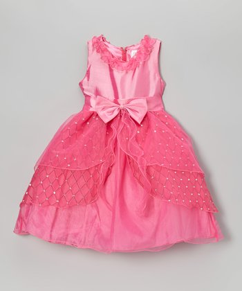 Carnation Bow Dress - Toddler & Girls