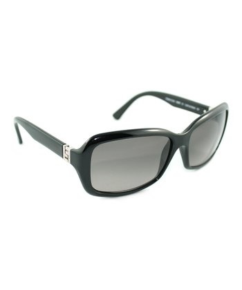 Black & Crystal Sunglasses