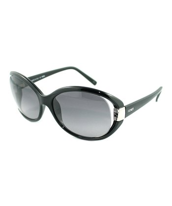 Black Cutout Sunglasses