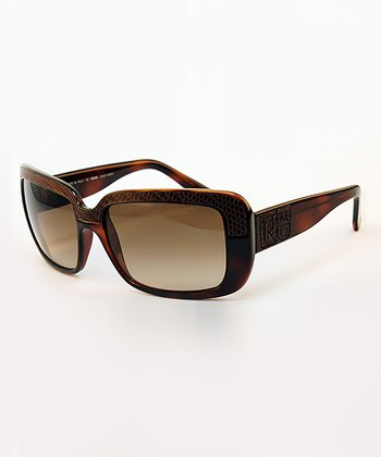 Tortoise Textured Sunglasses