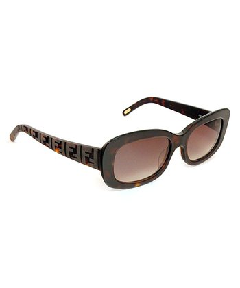 Havana Bold Rectangle Sunglasses