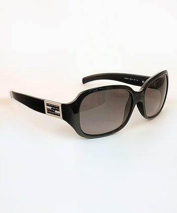Black Fendi Symbol Sunglasses