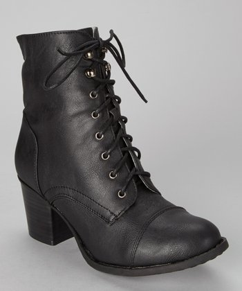 Black Karolina Ankle Boot